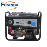 Fusinda Portable Generator with GFCI Outlets - 5500 Running Watts and 6750 Starting Watts - Gas Powered Generator