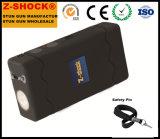 Small Portable Electric Shock Stick Self-Defense Stun Gun Riot Flashlight