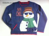 Boys Snowman Intarsia - True Knitted Sweater