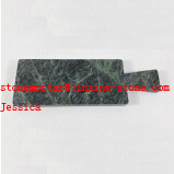 Dark Green Rectangle Cheese Board with Handle