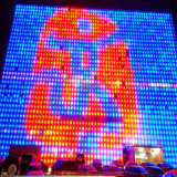 Outdoor Mesh LED Display P20 Curtain Video Wall