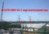Megatro 500kv 5A2 J1 Single Circuit Transmission Tower