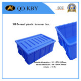 X78 General Plastic Turnover Box Container for Tansportation and Storage