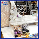 Various Printing Logo Customized Acrylic Jewelry Display with Drawer