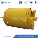 Rotary Drilling Rig Accessories Rock Bucket Tool