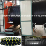 HDPE Drainage Pipe Production Machine with Hot Winding Technology