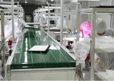 LED Panel Module Belt Conveyor Line-1 in Cleanroom