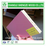 Pink Color Melamine Faced 18mm Particle Board