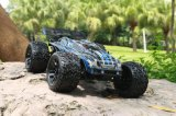 Transmitter 2 Channel RC off Road Truggy 1/10 Scale 2.4GHz Electric Brushless RC Car Model