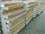 Decoration Material Rockwool/Glass Wool Sandwich Panel for Prefab House