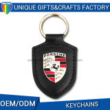 Custom Leather Keychain Wholesale Key Ring for Car Zinc Alloy