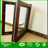 High Quality Wood Clad Aluminum Window for Villa