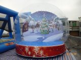 Advertising Decoration Giant Inflatable Bubble Snow Globe