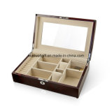 Elegant and Spacious High Gloss Rosewood Jewelry Box/Case Watch Box