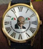 Elecontion Campaign Artwork Print Alloy Wrist Watch