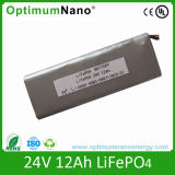 LiFePO4 Battery 24V 12Ah for E-bike