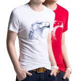 2016 Wholesale Custom Fashion White Short Sleeve T Shirt (XINYU289)