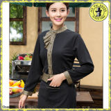 Modern Hotel Restaurant Uniforms for Waiters Waitress