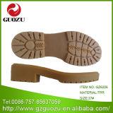Thick Camel Square Heel Non-Slipe Female Large Bottom Gz-6226