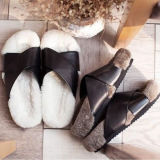 Vogue Design Sheepskin Slipper Fashion Fur Sandal