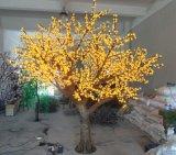 Yaye CE & RoHS Approval LED Simulation Cherry Tree/LED Simulation Blossom Cherry Tree with AC24V & AC85-265V