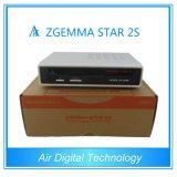 Zgemma 2s Original Enigma2 Linux OS Two Dvbs2 Tuner Satellite Receiver Stock Now