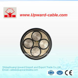 4 Cores 240mm2 Low Voltage Electric Cable (YJHLV22 armored cable)