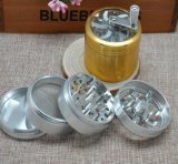 4 Parts Tobacco Grinder, aluminium 63mm Grinder Herb