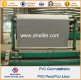 Smooth Surface Gray Blue Color PVC Geomembranes Pond Liners