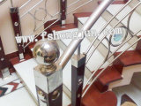 High Polished Ornamental Welded Stainless Steel Poipe for Railing