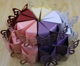 Butterfly-Shaped Paper Bakery Cake Box