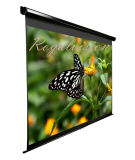Manual Wall Projection Screen, Pull Down Projector Screen