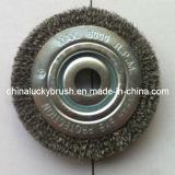 125mm Steel Wire Circular Polishing Brush (YY-070)