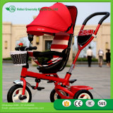 New Model Design High Quality Kids Tricycle Half Canopy