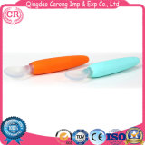 Five Months Baby Feeding Spoon of Silicone Material