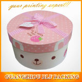 Cylindrical Paper Gift Round Box