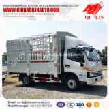 4*2 140HP Fence Box Light Truck for Animal Transport