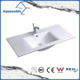 One Piece Bathroom Basin and Countertop Sink (ACB7790)