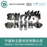Plg System for Automobile Trunk Bracket Stampings