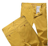 Summer Color Men Trousers Wholesale Long Pants with Competitive Price