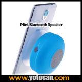 Portable Waterproof Wireless Speaker Car Handsfree Receive Call & Music Suction Phone Mic