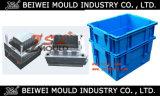 Heavy Duty Injection Plastic Crate Bin Mould