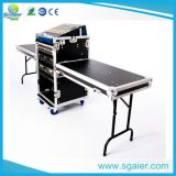 OEM 4u Mixer Case Rack Cases for Amplifier with Wheels