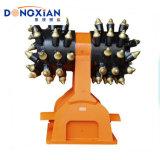 Excavator Parts Hydraulic Rotary Horizontal Drum Cutter