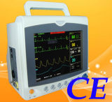 "CE Approved 6- Parameter Patient Monitor, Vital Sign Monitor, 8.4"" Screen"