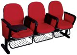 Small Size Plastic Shell Cinema Seating Chair with Wire Basket