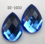 Flat Back Drop Glass Loose Beads (DZ-1033)