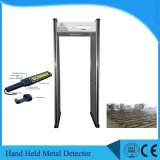 6 Optional Zones Walk Through Metal Detector with LED Light