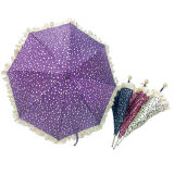 Lace Edge Straight Umbrella (OY8858)