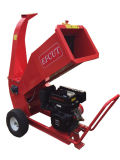 Red Color Chipper Body Garden Care 15 HP 4 Inch Wood Chipper